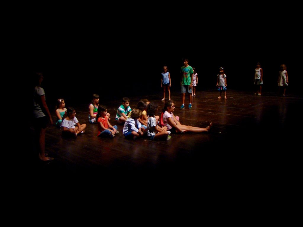 Workshop de teatro nas férias, com Ricardo Kalash (Setembro/2016)