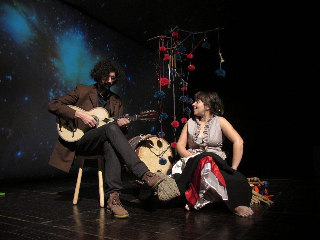 Luís Pedro Madeira e Catarina Moura - o Taleguinho (foto: Pedro Rodrigues)