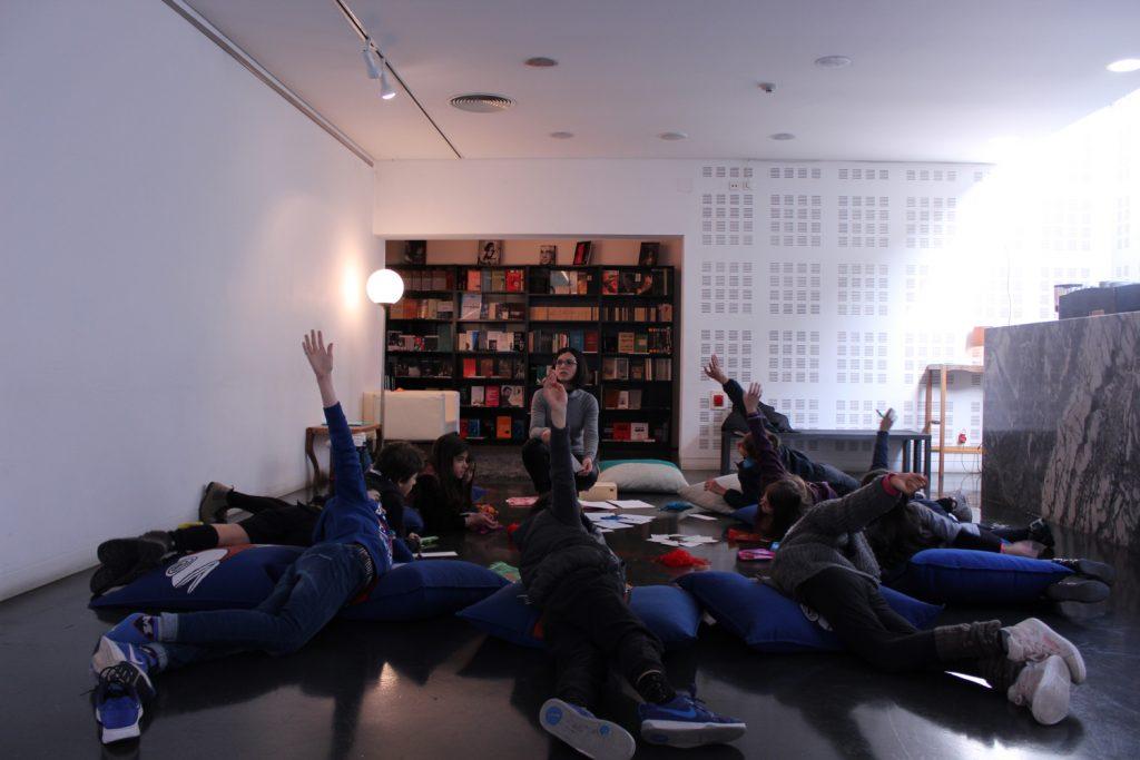 """""""Filosofia para Crianças"""", com Celeste Silva (foto: Pedro Rodrigues)"""