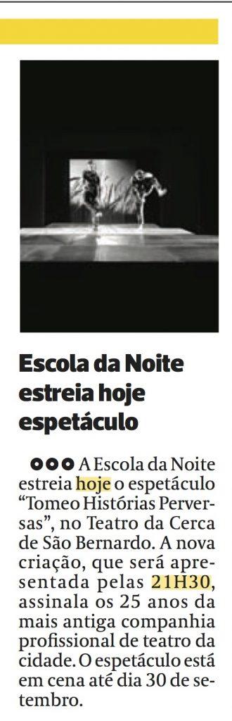 Diário As Beiras, 14/09/2017