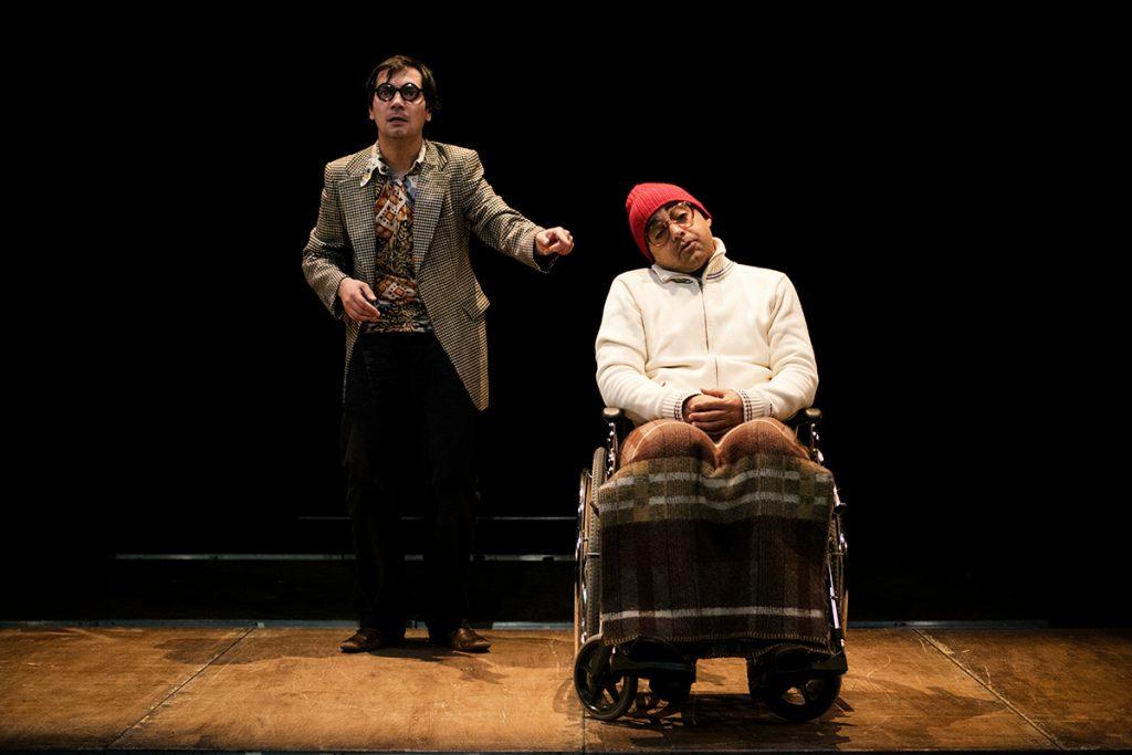 """Igor Lebreaud e Miguel Magalhães, """"TOMEO Histórias Perversas"""" (foto: Eduardo Pinto)"""