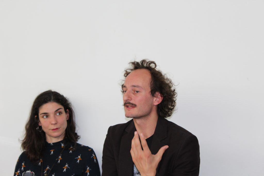 Rafaela Bidarra e Matilde Javier Ciria (foto: Pedro Rodrigues)