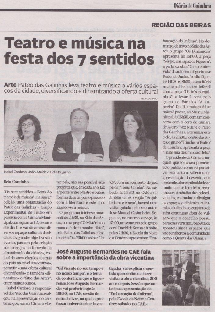 Diário de Coimbra, 02/11/2017