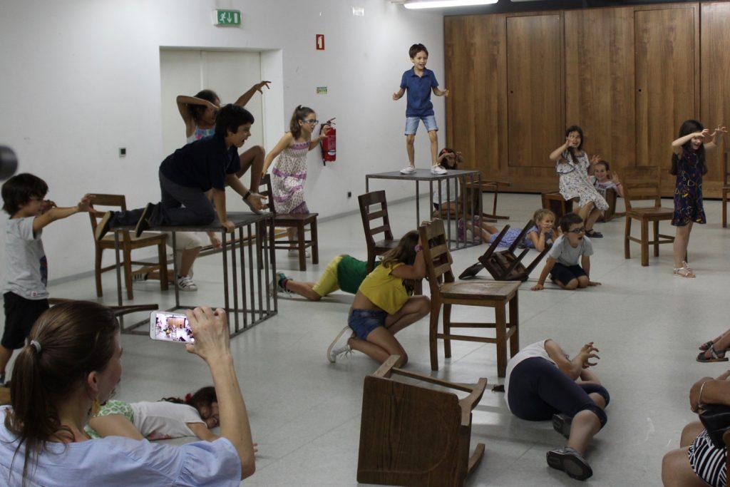 Workshop de Teatro nas Férias, com Ricardo Kalash (foto: Pedro Rodrigues)
