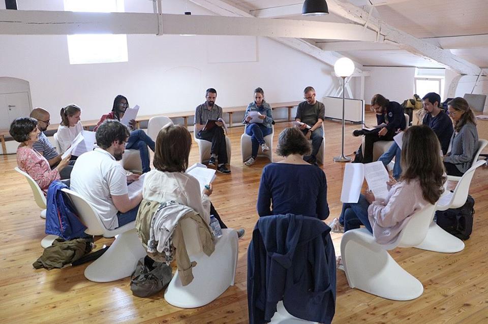 Clube de Leitura Teatral (foto: Cláudia Morais)